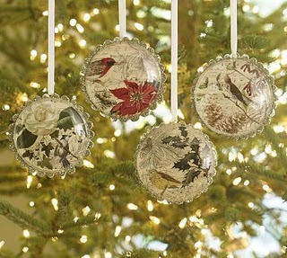 pottery barn copy cat christmas ornaments