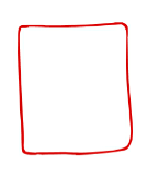 Step 1 draw a square with rounded corners for jelly bean s body