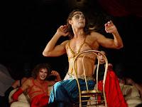 Легендарный спектакль Театра Романа Виктюка «Саломея». В главной роли Дмитрий Бозин