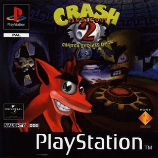 Crash 2 Bandicoot para PC e Playstation