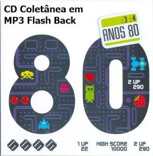 anos+80 CD Coletânea em MP3 Flash Back Raridade