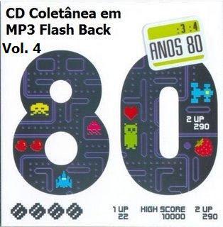 anos+80 CD Coletânea em MP3 Flash Back Raridade Vol. 4