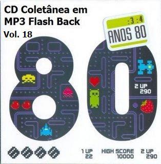 CD Coletânea em MP3 Flash Back Raridade Vol. 18
