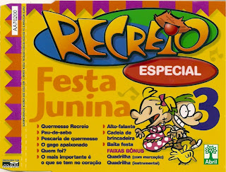 CD Recreio - Festa Junina - Album Vol. 03