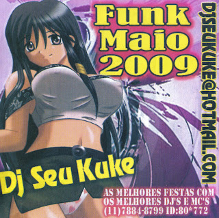 CD Coletanea funk Maio 2009