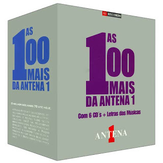As+100+Mais+da+Antena+1 CDs As 100 Mais Da Antena 1   Com 6 CDs