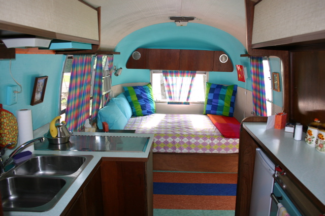 Airstream Trailer, Interior