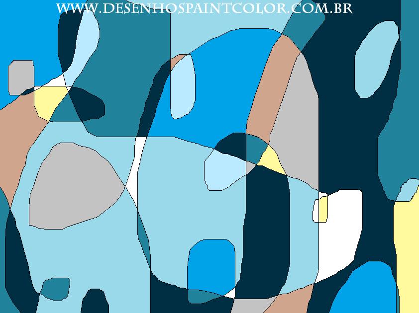 Desenhos abstratos para telas