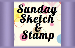 Sunday Sketch and Stamp Challenge #104 - Donna's Sketch