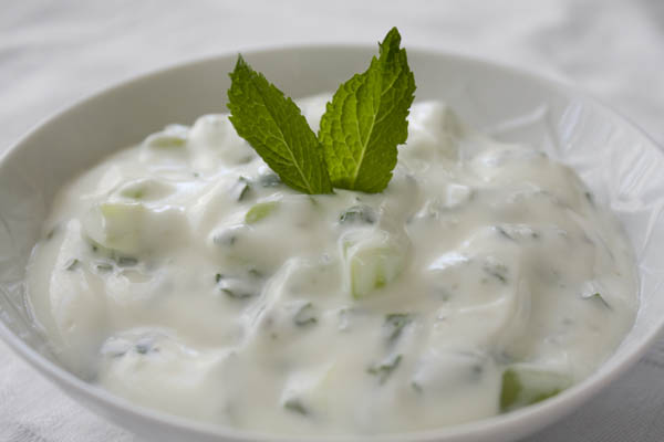 Savory Thyme: Cucumber Raita (Indian Yogurt Sauce)