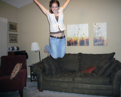 michelle hipps jumping in the air