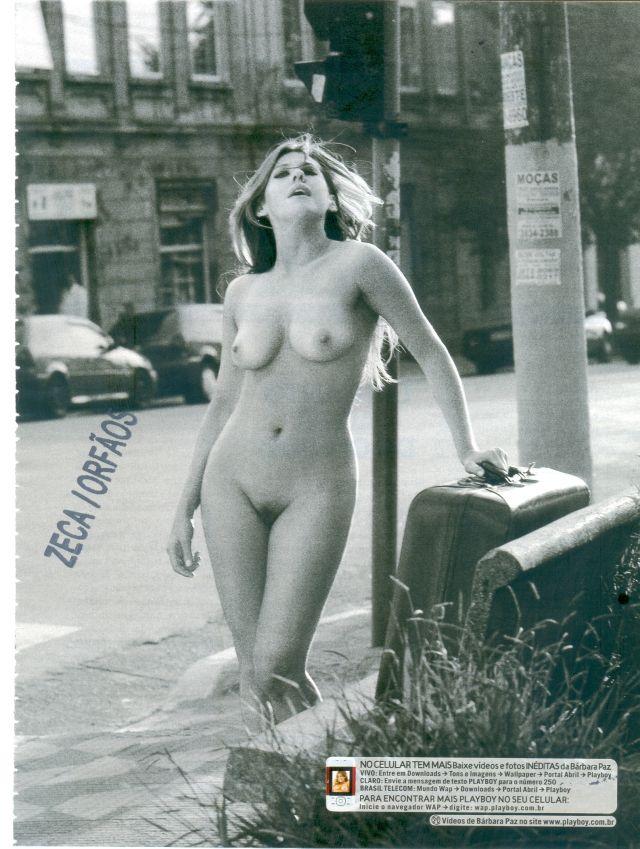 Barbara Paz Viver A Vida Nua Pelada Hot Brasilian Girl Celebrity