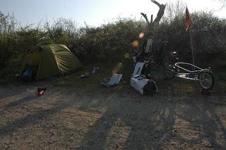 Erstes wildes Campen
