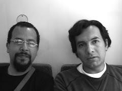 Con Eduard Moreno rumbo a Figueras en 2007