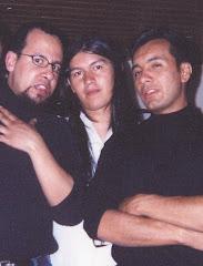 Con Eduard y Jhon