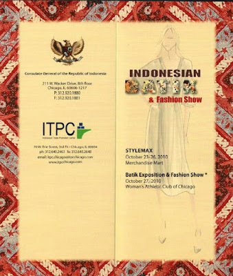 INDONESIAN BATIK FASHION SHOW
