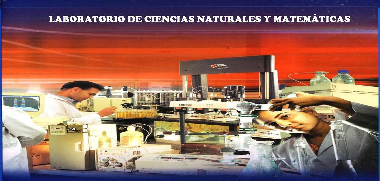 PRÁCTICAS DE CIENCIAS NATURALES Y MATEMÁTICAS