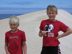 sanddunes in SA