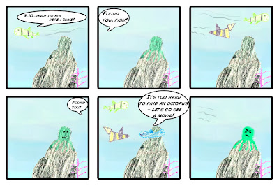 Octopus Comics - Zoe's Summer Project.