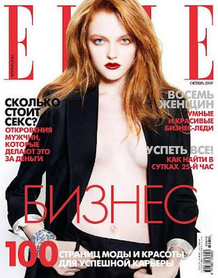 Vlada Roslyakova Photo at the Magazine Elle