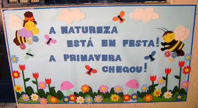 mural para primavera