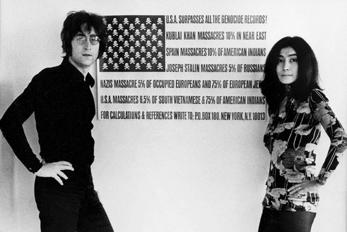 letra y video of happy christmas of jhon lennon: