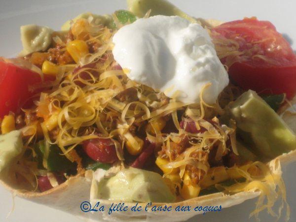 salade mexicaine relevee