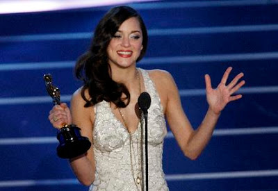 Marion Cotillard best actress, 'No Country' leads Oscars