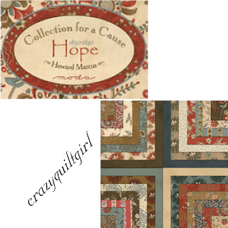 Moda COLLECTIONS FOR A CAUSE HOPE Fabric by Howard Marcus