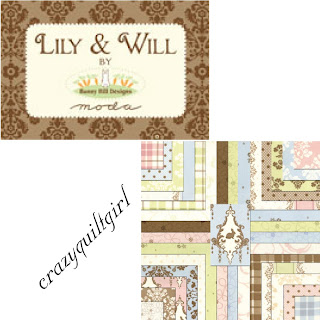 Moda LILY & WILL Fabric by Bunny Hill Designs