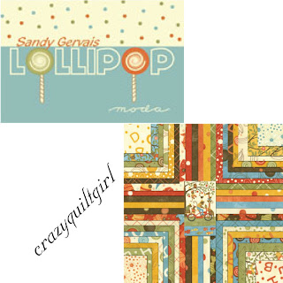 Moda LOLLIPOP Fabric by Sandy Gervais