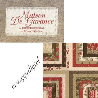 Moda MAISON DE GARANCE Fabric by French General