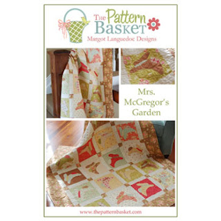 The Pattern Basket MRS. MCGREGOR'S GARDEN Quilt Pattern