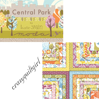 Moda CENTRAL PARK Fabric by Kate Spain
