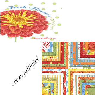 Moda FRESH FLOWERS Quilt Fabric by Deb Strain