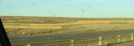 Snow Fences in Wyoming