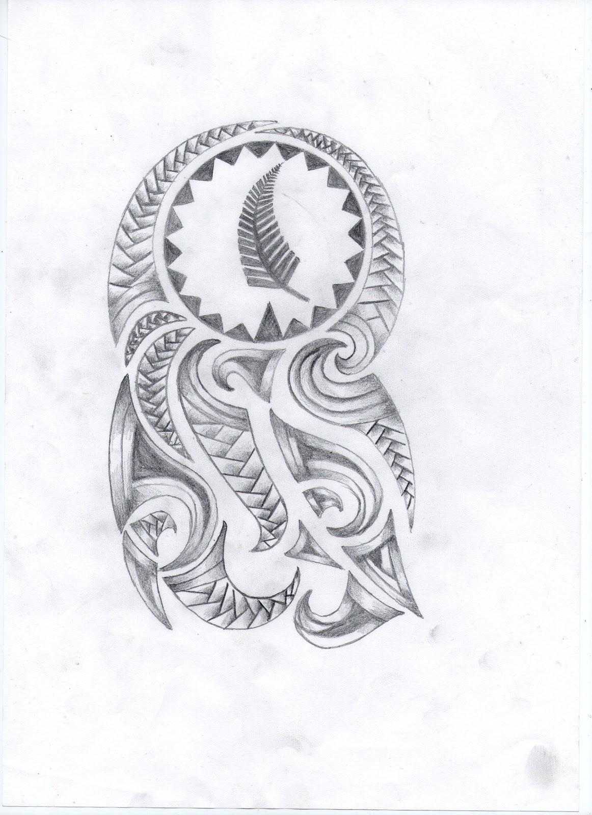 boceto maori