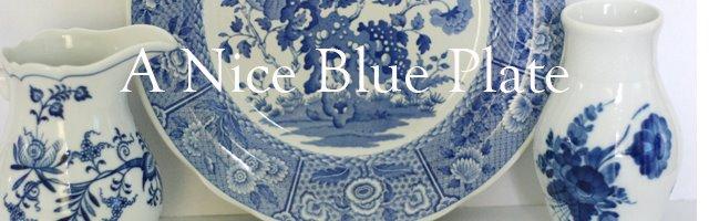 A Nice Blue Plate