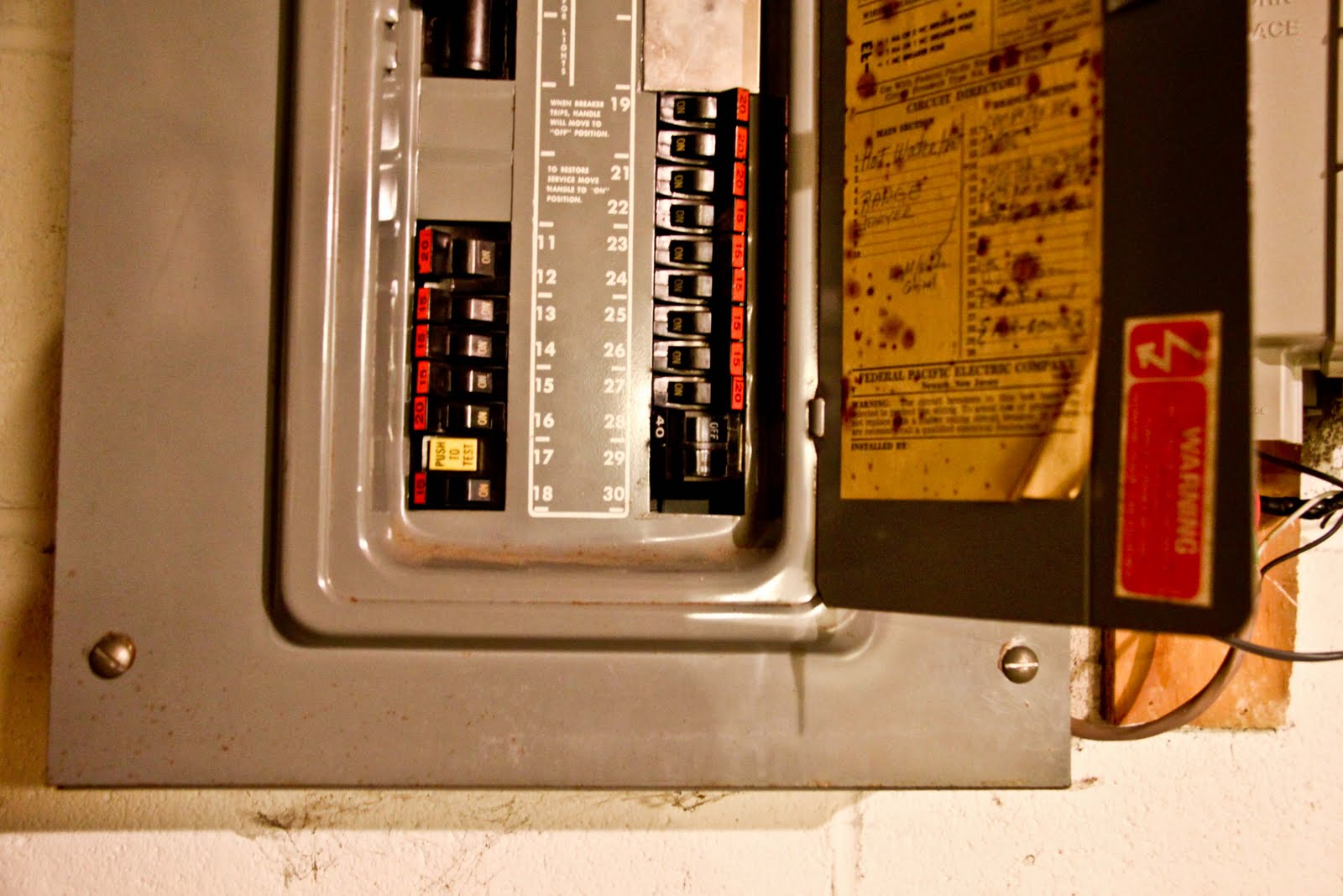 Replacing Fuse On Central Ac Unit Fdo's Workspace 228042 Fuse Box Old Big Fuse  Box