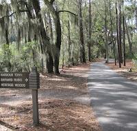 signs on bike path