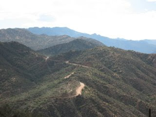 scenic twisting road
