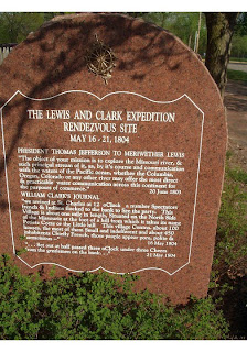 Lewis and Clark Plaque