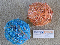 rolled yarn