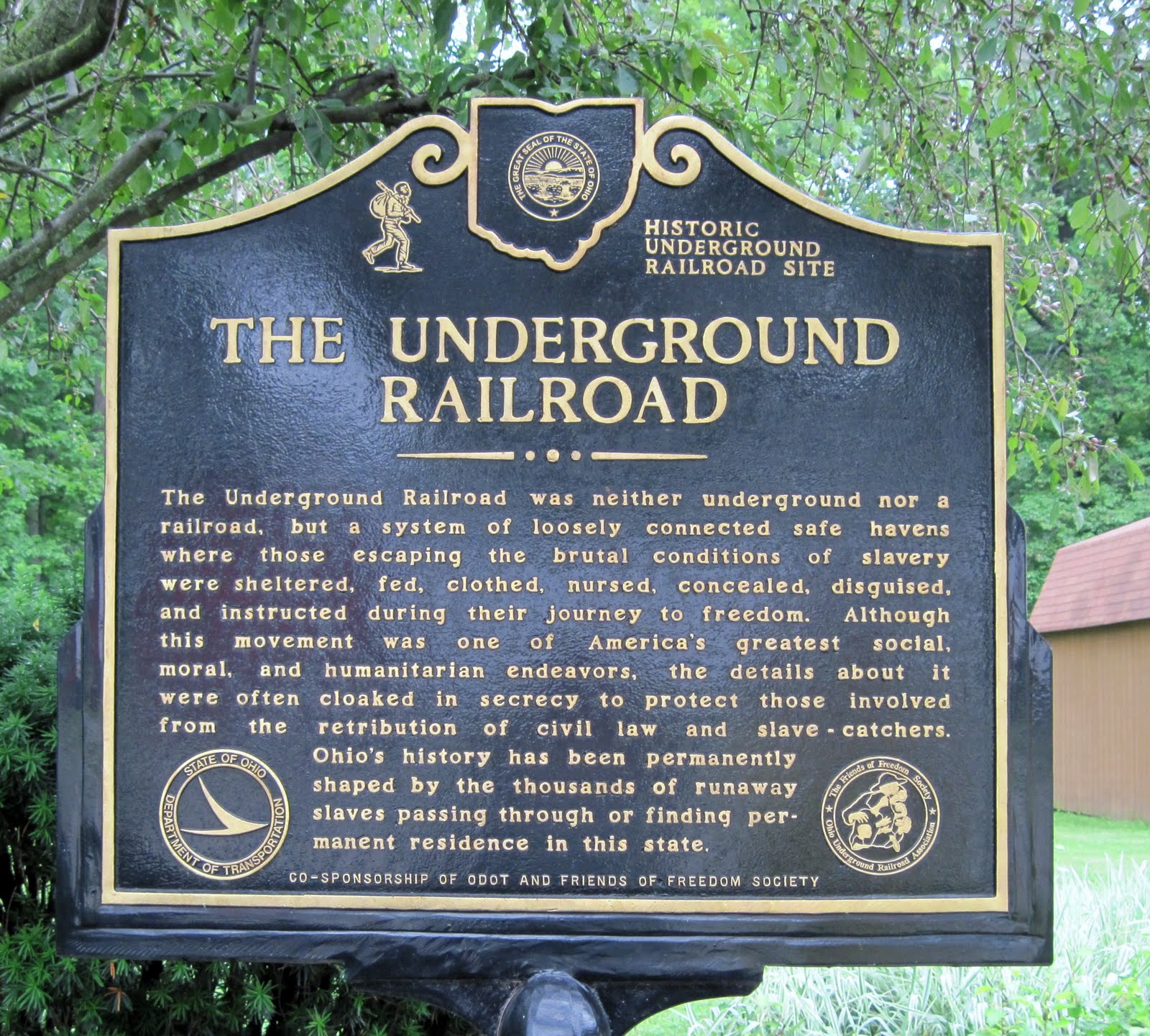 The Gallery For Gt Underground Railroad Safe House Symbols