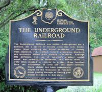 underground railroad historical marker