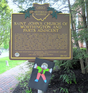 historic church sign