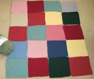 knitted blocks