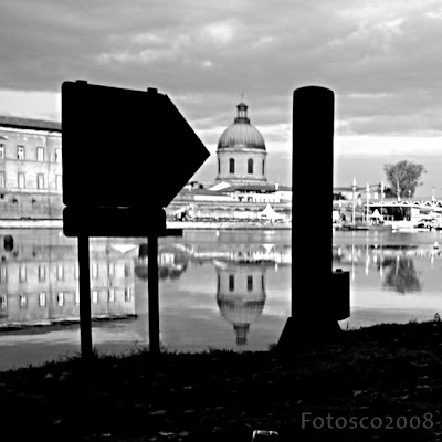 Contre-jour matinal, Dôme de la Grave, Toulouse