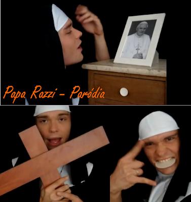 papa razzi freira lady gaga