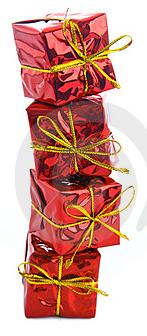 embalagens de presente de natal